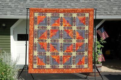 Traditional, art, modern quilts at annual show