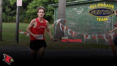 Plattsburgh State's Heymann named to X-C All-Decade Team