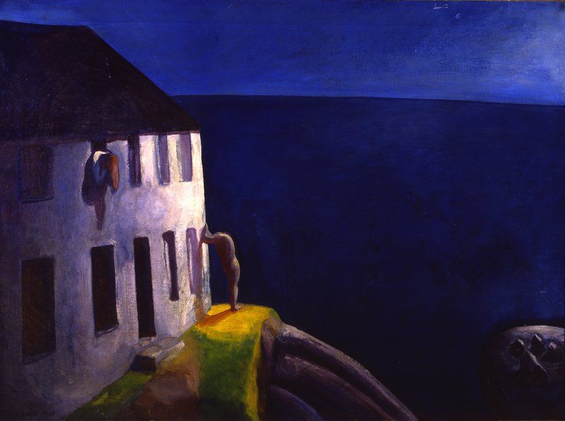A painterly flirt with modernity at land's end