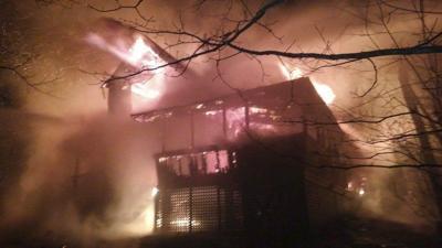 'Dream home' lost in fire
