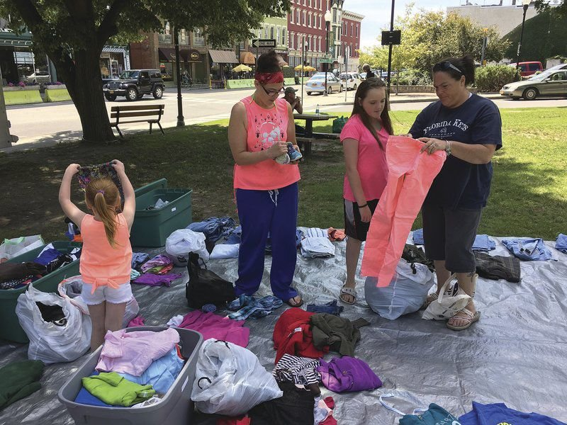 Outreach program provides free clothing, essentials