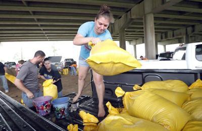 'It's powerful' Tropical storm Barry starts lashing Louisiana