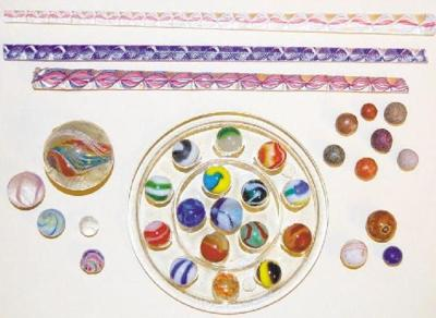 A Glimpse At The Various Types Of Marbles Made Between 1880 And 1950 In United States Germany From Left Handmade With Solid Core