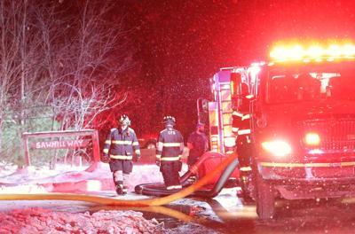 Departments fight Schuyler Falls fire