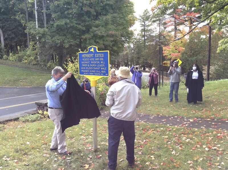 Three historic markers illuminate Town of Chesterfield's past
