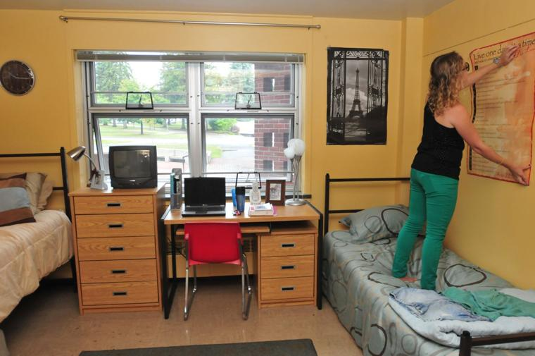 Less Is More In College Dorms Press Republican Local News