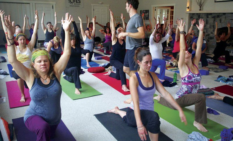 Yoga stretches to North Country