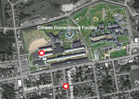 MAP: Clinton Correctional Facility Escape   Multimedia