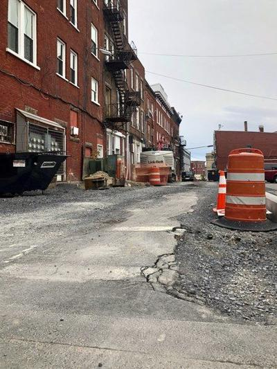 Construction on Protection Avenue continues