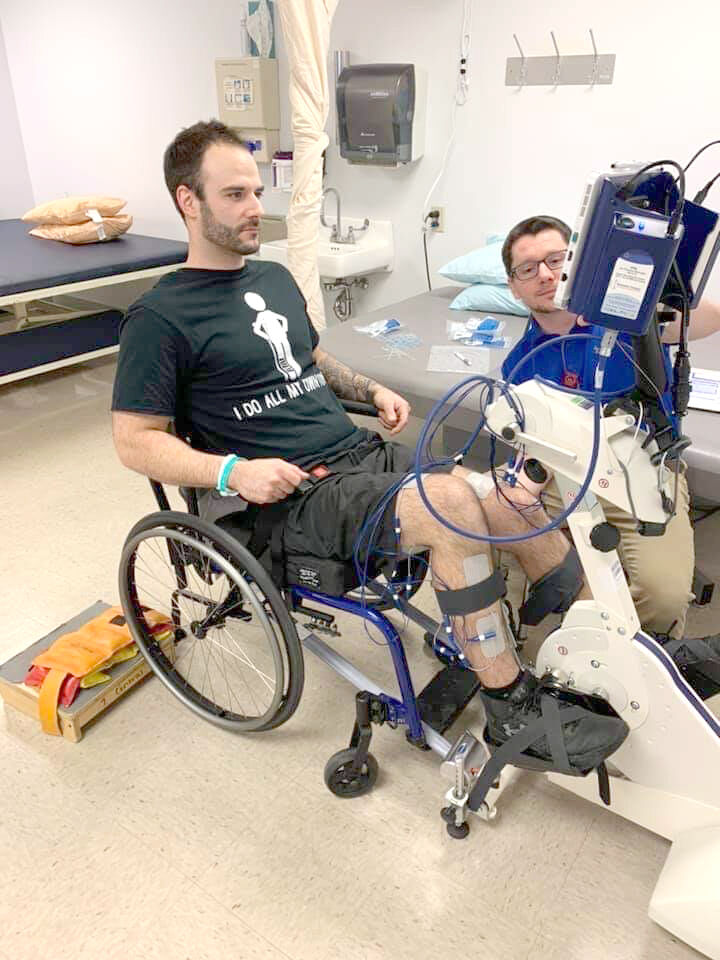 Fighting since Day One: Local snowmobiler LaGoy reflects on accident, recovery