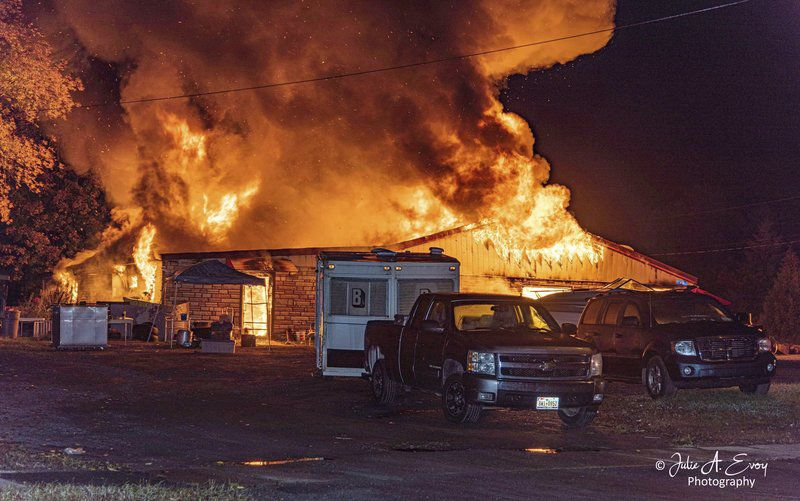 Fire Destroys Former Bar