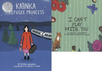 Children's book author explores refugees and prejudice in new books