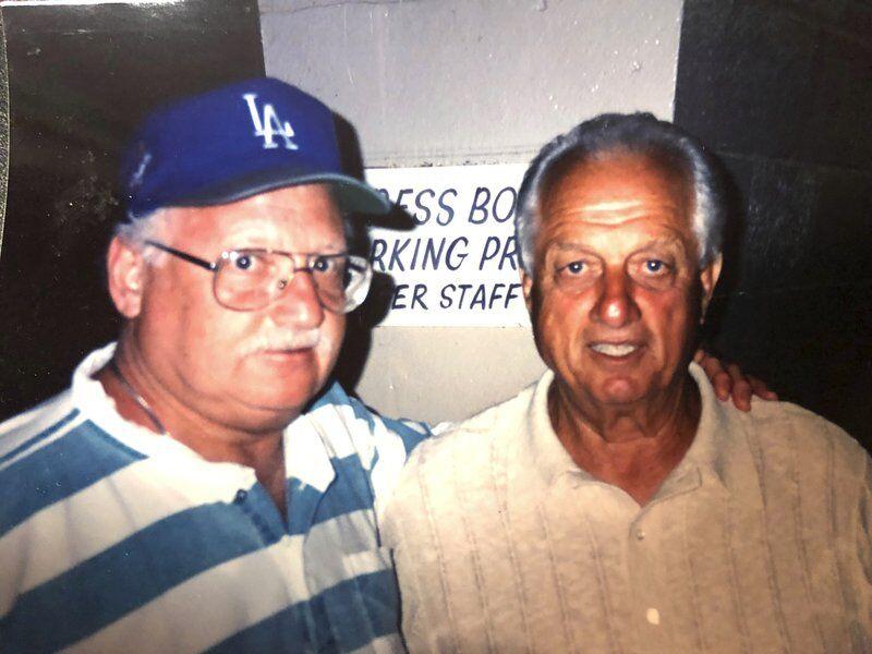 """HE WAS HIS HERO"": Lasorda's death brings back son's memories of father"