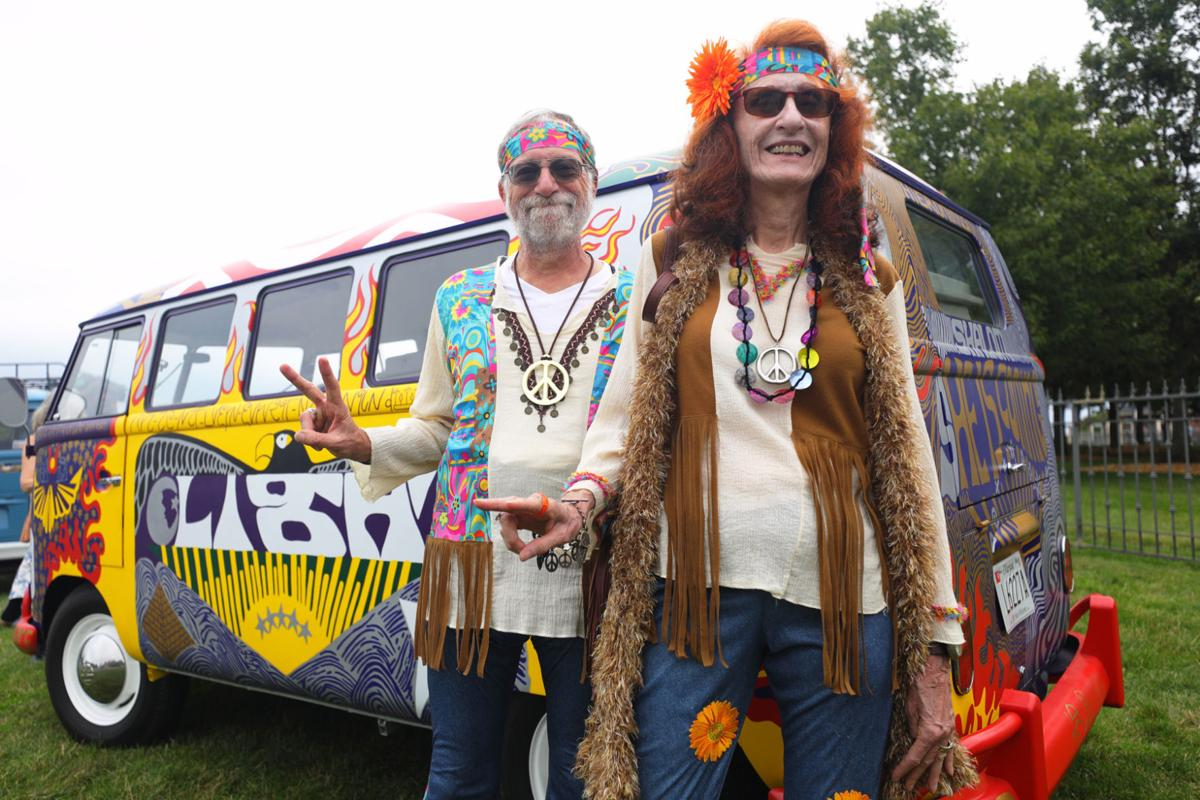 'I felt like I was back again': Thousands flock to Bethel to relive Woodstock experience
