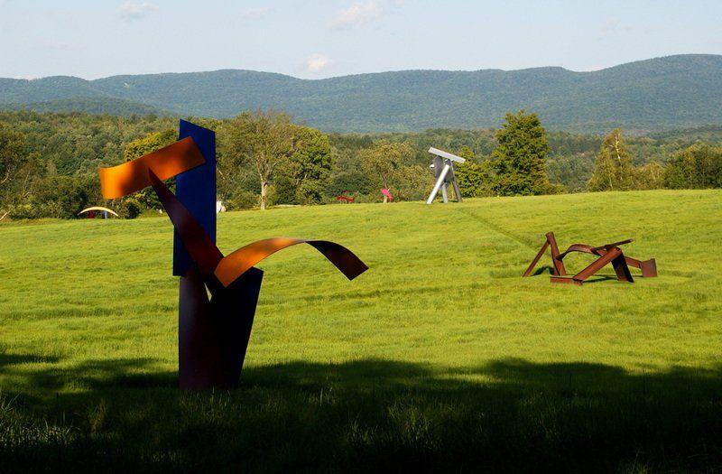 Steel around in Northern Vt.: Cold Hollow Sculpture Park open