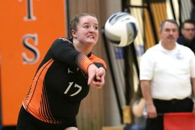 PHS, Saranac Lake, AuSable win volleyball semifinals