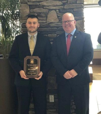 University Police officer receives award for rescue