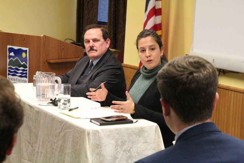 Stefanik meets with constituents, supporters