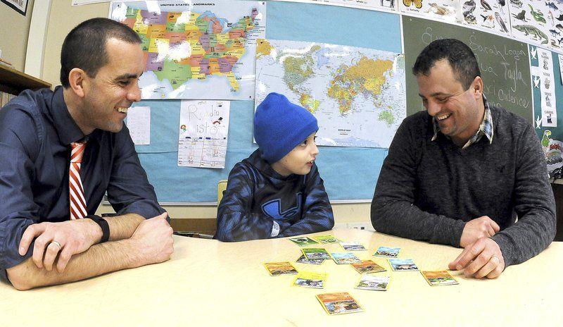 School helps third-grader heal