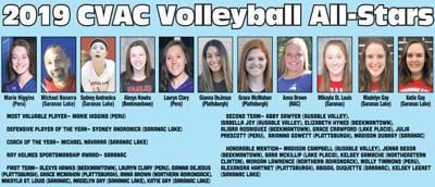 2019 CVAC Volleyball All-Stars