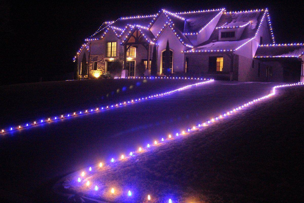 LIGHT BRIGHT: Some local homes decked out in holiday array have stories behind them
