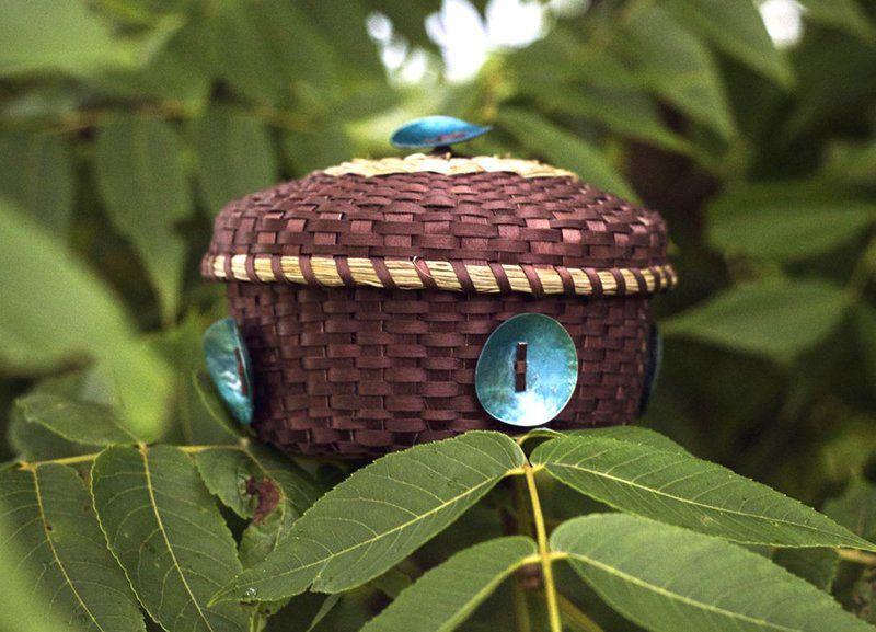Traditional Mohawk basket maker visits Plattsburgh State Art Museum