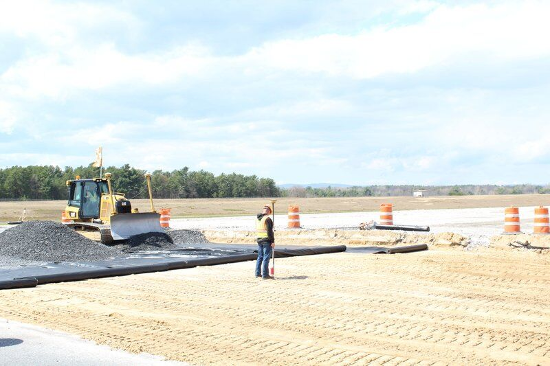 Plattsburgh airport runway reconstruction begins