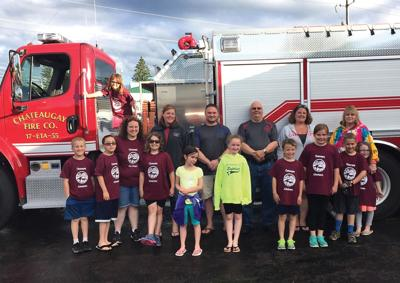 4-H Club members honored for cleaning up Chateaugay park