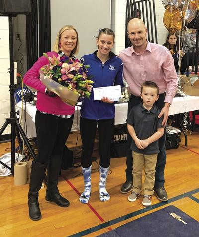 Desso awarded Section VII Stacey Frechette Sportsmanship Award