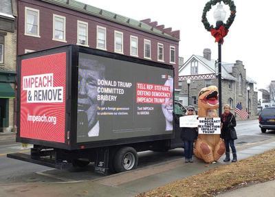 'Impeach Trump' truck visits Plattsburgh