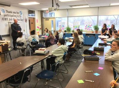 Students get peek at future through job shadowing