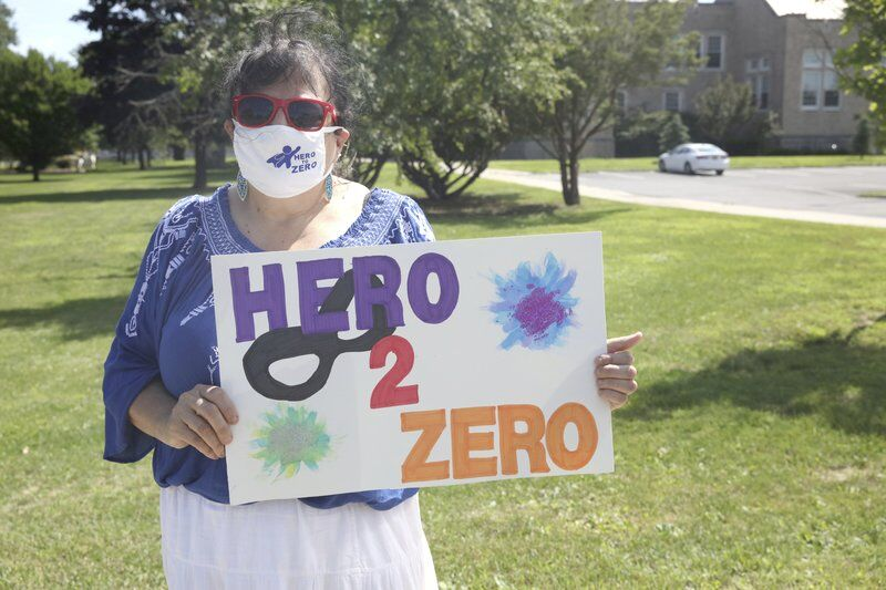 Rally-goers voice concerns over CVPH redesign