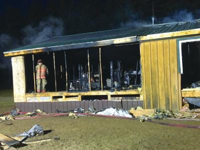 Electrical fire destroys Constable home