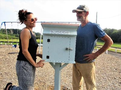 LITTLE FREE LIBRARY RESTORED