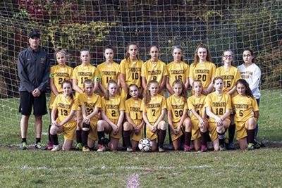Thomaston Middle School Girls' Soccer Finishes Undefeated
