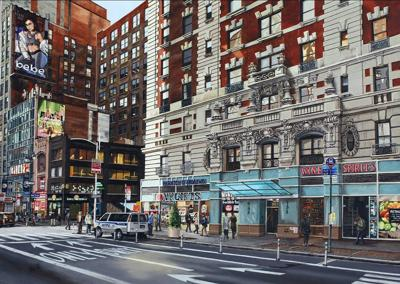 Views of New York City Streets Focus of Artist's Exhibit