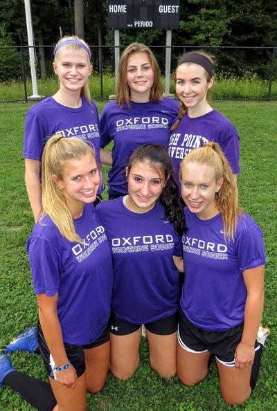 The Girls' Soccer Team at Oxford