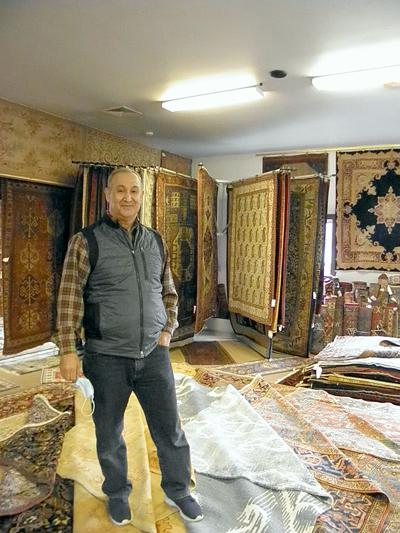 At Persian Rug Gallery: Quality Products and Repairs Come First for Rug Gallery Owner