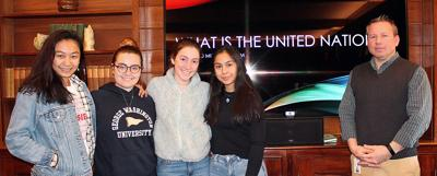 From Westover: Students at Model UN Program