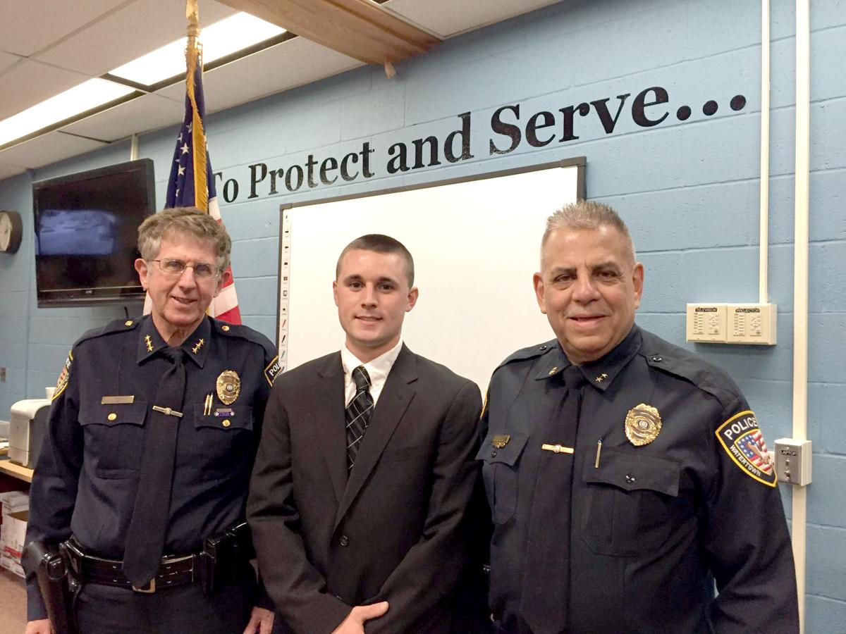 Watertown police swear in second generation officer | Top