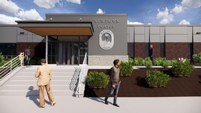 Mild Winter Enables Progress on New Newtown Police Station