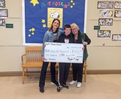 SWIFT SCHOOL DONATION