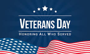 Veterans' Day Services Set