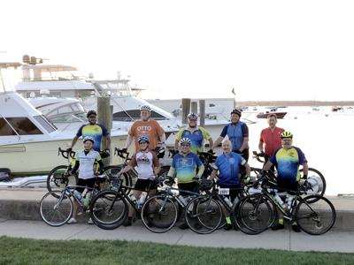 Closer to Free Ride:  Area Residents Take Part in 110 Mile Bike Ride