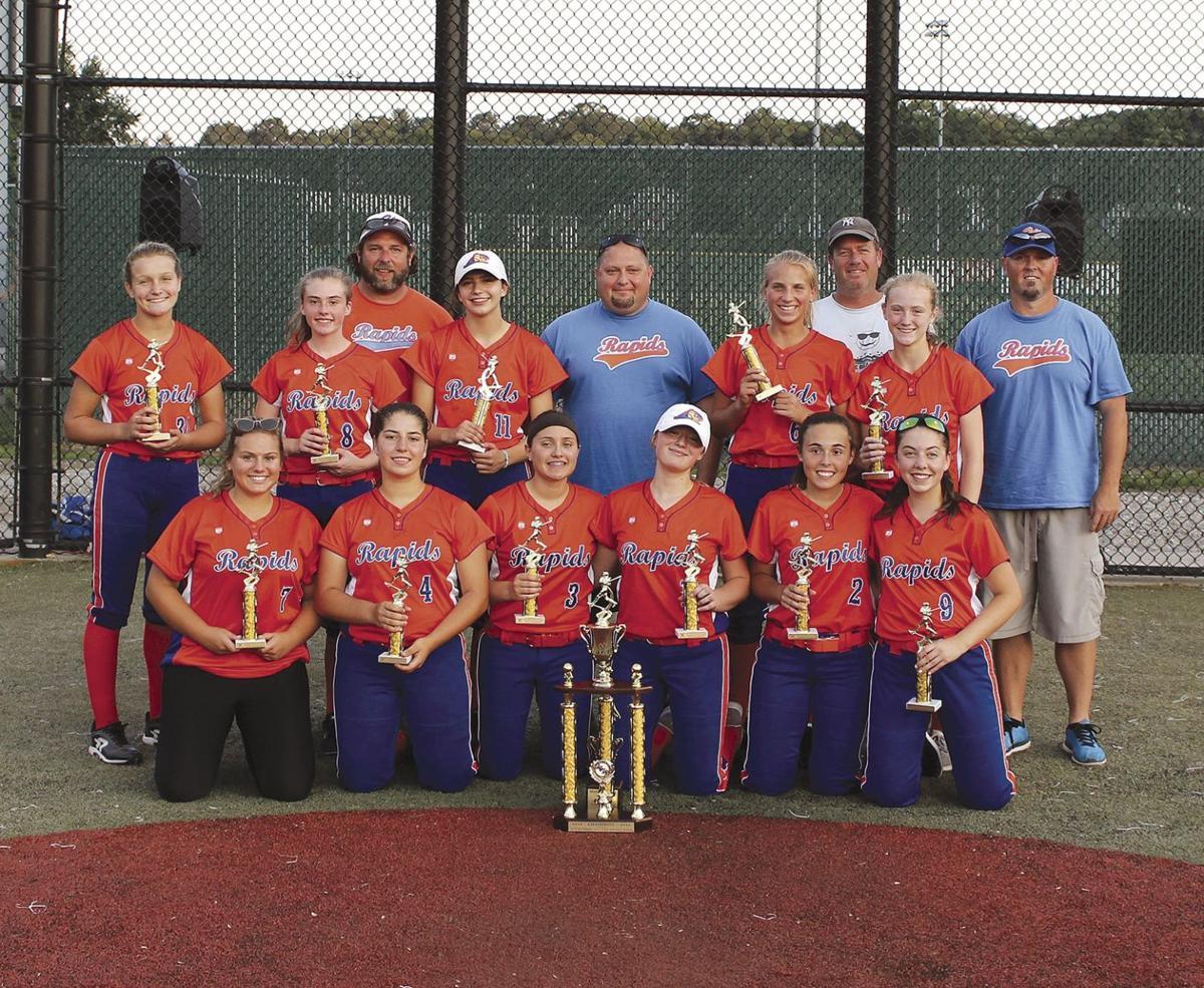 The Watertown Rapids 14U team