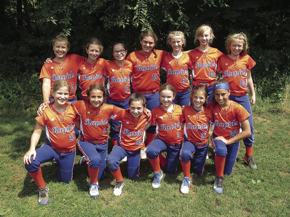 The 10U GROWS Watertown Rapids Softball Team Completes Successful Season