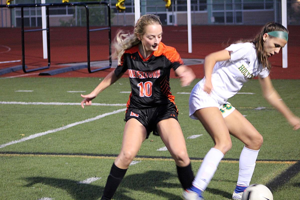 Title Pursuits Are On For Girls' Soccer