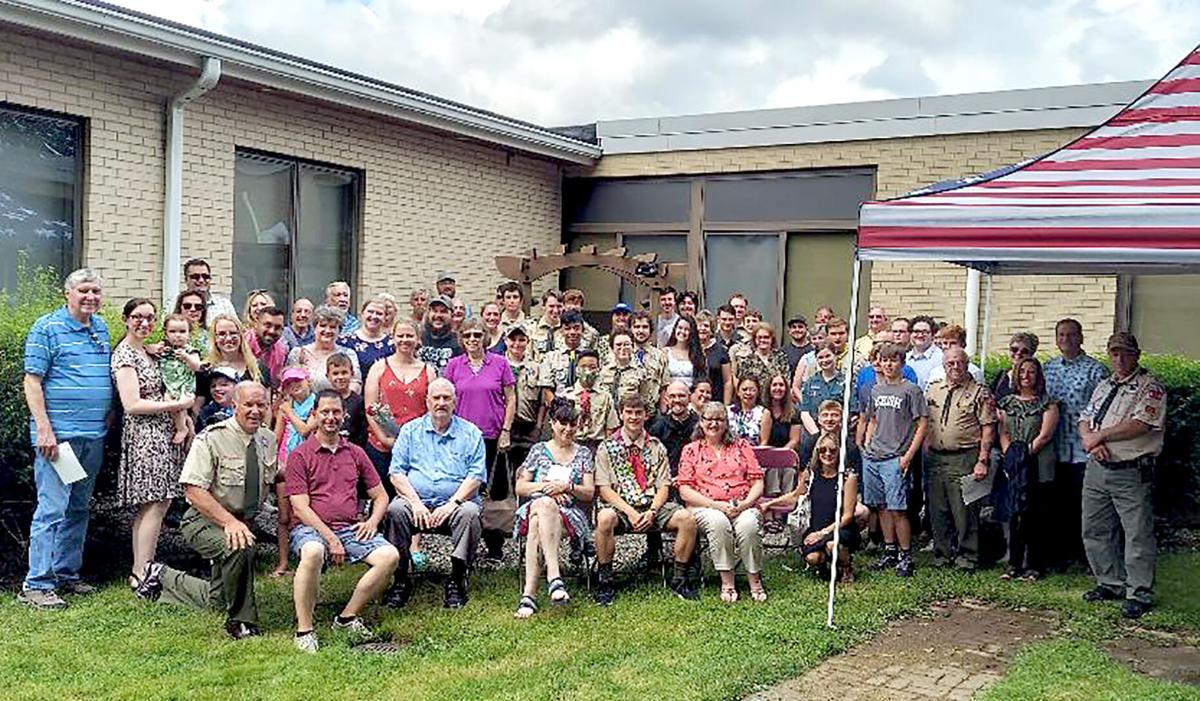 Eagle Scout Creates Prayer Garden at St. Mary Magdalen Church