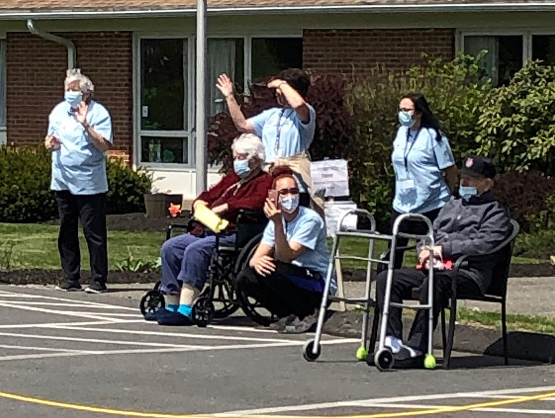 Residents of Apple Rehab Enjoy Parade of Hope and Thanks