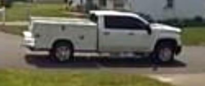 Police Seek Information About Two Male Scammers in White Truck